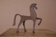 sculpture animaux : Cheval en parade