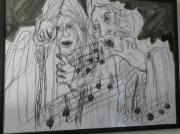 tableau personnages chorale opera : les deux choristes