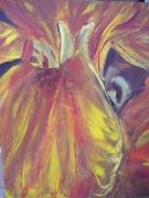 tableau fleur jardin autrement : giroflée