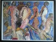 dessin personnages corps nus mouvement liberte : corps en mouvements