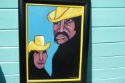 tableau personnages mexicain couple mexique : COUPLE DE MEXICAINS