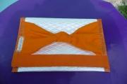 art textile mode autres crocodile baby skai noeud en feutrine : POCHETTE EN SKAI