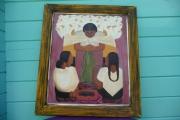 tableau fleurs marche fleurs frida kahlo diego rivera : LE MARCHE AUX FLEURS