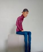 sculpture personnages paul nemet sculpture paul nemet sculpteur sculpture personnage sculpture platre : -Penaud- 2017