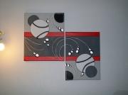 tableau abstrait : planet