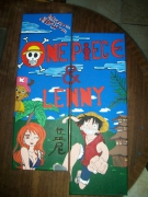 tableau personnages : one piece
