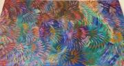 tableau abstrait artifice explosion couleurs : ARTIFICE