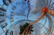 art numerique abstrait roue by cathyso : la roue cauchemardesque
