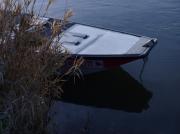 photo paysages matin frileux gel sur barque la barque petit mati : matin frileux 3