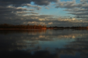 photo paysages ciel de loire orageu la loire reflection : reflection