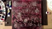 mixte abstrait texture abstrait emotion : monde intérieur