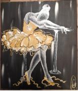tableau personnages danseuse etoile peinture d une peinture de aa labri peinture danseuse cl : désespérément désespéré