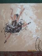 tableau personnages aa labrini toile danseuse etoil tableau danseuse cla toile danseuse etoil : Chimere
