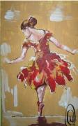 tableau personnages danseuse etoile reproduction danseuse : future danseuse etoile