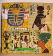 deco design autres egypte marron objets : Cadre Egyptien