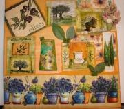 deco design autres nature vegetal verte : Cadre Nature de provence