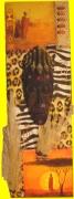 deco design autres africain masque : Cadre Africain