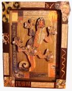 deco design autres salamande africain : Cadre Africain