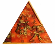 deco design autres chinois bambou signes chinois : Cadre chinois