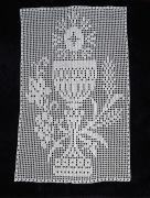art textile mode autres dentelle religieuse dentelle de crochet napperon fait main calice napperon croc : Dentelle religieuse Calice au crochet fait main