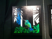 tableau animaux colibri marilyn ferreira decines animaux : Colibri