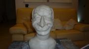 sculpture personnages bust louis de funes : Louis de Funès