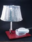 deco design architecture light terre cuite boite ,a bijoux v : lampe céramique 6