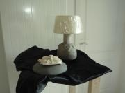 deco design architecture lampe ceramique terre cuite gris vert vise : lampe céramique 5