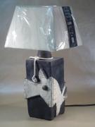 deco design architecture raku light lampe ceramique terre cuite raku : lampe céramique