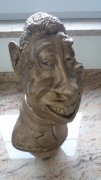 sculpture fernandel sculpture caricature josi rica : fernandel caricature