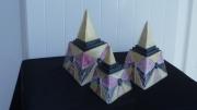 sculpture pyramides deco ceramique : pyramides aztèques