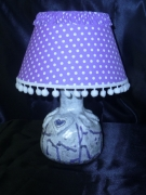 sculpture lampe table ceramique decoration : LAMPE