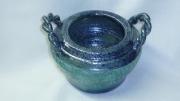 sculpture pot de fleur ceramique : pot de fleur
