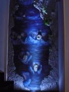 sculpture paysages sculpture murale cascade faux rochers josi rica : cascade
