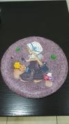 sculpture personnages deco loisir creatif ceramique : fillette