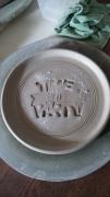 ceramique verre assiette ceramique : assiette