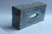 tableau boite ,a scottex ceramique decoration bureau : boîte à scottex