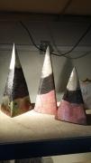 sculpture decoration interieur pyramides raku josi rica : pyramides