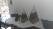 sculpture deco pyramides loisirs creatifs : pyramides