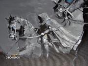 tableau personnages cavaliers noir : les cavaliers noir