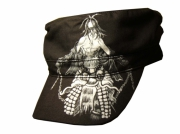 art textile mode personnages casquette noir manga personnage : casquette manga