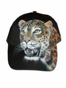 art textile mode animaux casquette leopard animaux portrait : casquette léopard