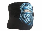 art textile mode personnages casqette touareg bleu personnage : casquette touareg
