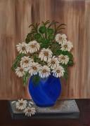 artisanat dart fleurs : Pot De Fleurs