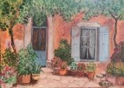 crafts villes : Facade Fleurie