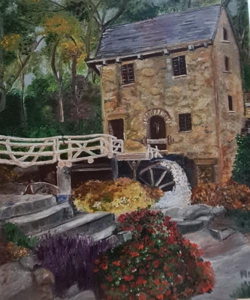 ARTISANAT D'ART Paysages  - Mon Joli Moulin
