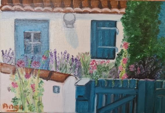 ARTISANAT D'ART Villes  - Petite Maison Bleue