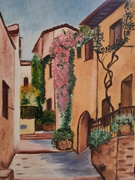 ARTISANAT D'ART Villes  - Impasse Fleuri