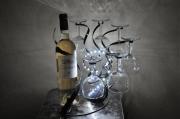 artisanat dart autres porte bouteille art de la table fait main : porte bouteille original en métal,