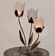 artisanat dart fleurs : bougeoir fleur